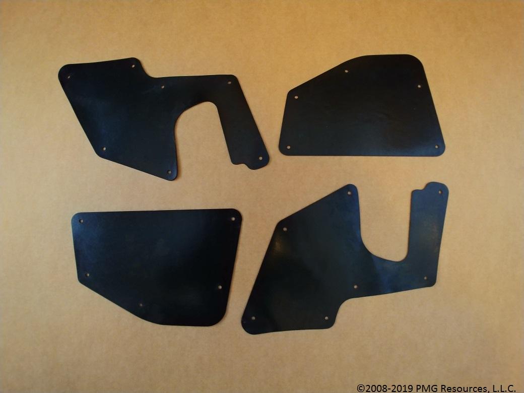 F Yota Liners Front Right Splash Shield with Clips for FJ Cruiser 2007-2014 Fender Liner, Apron, Shield, Splash Guard, Skirt, Guard, Seal, Splash Seal